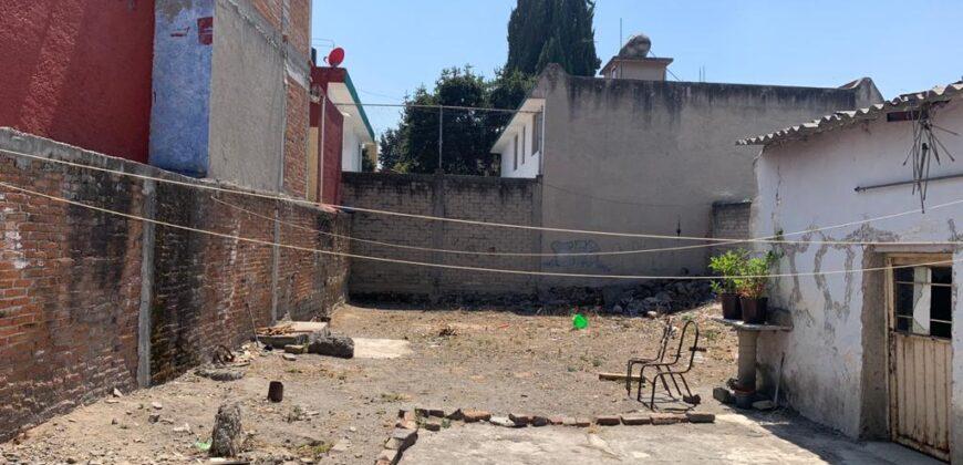 TERRENO EN VENTA TOLUCA CENTRO COLONIA EL RANCHITO